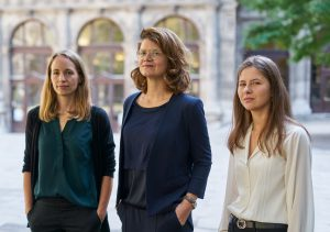 From left to right: Anna Pichelstorfer, Katharina T. Paul, Katharina Riesinger
